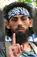 Umar Patek with the Abu Sayyaf militant group in the Philippines, 2007.